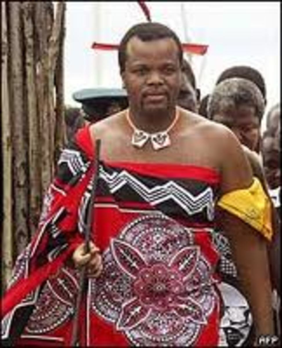 The King Of Swaziland and The Challenge of His Misbehaving Queens