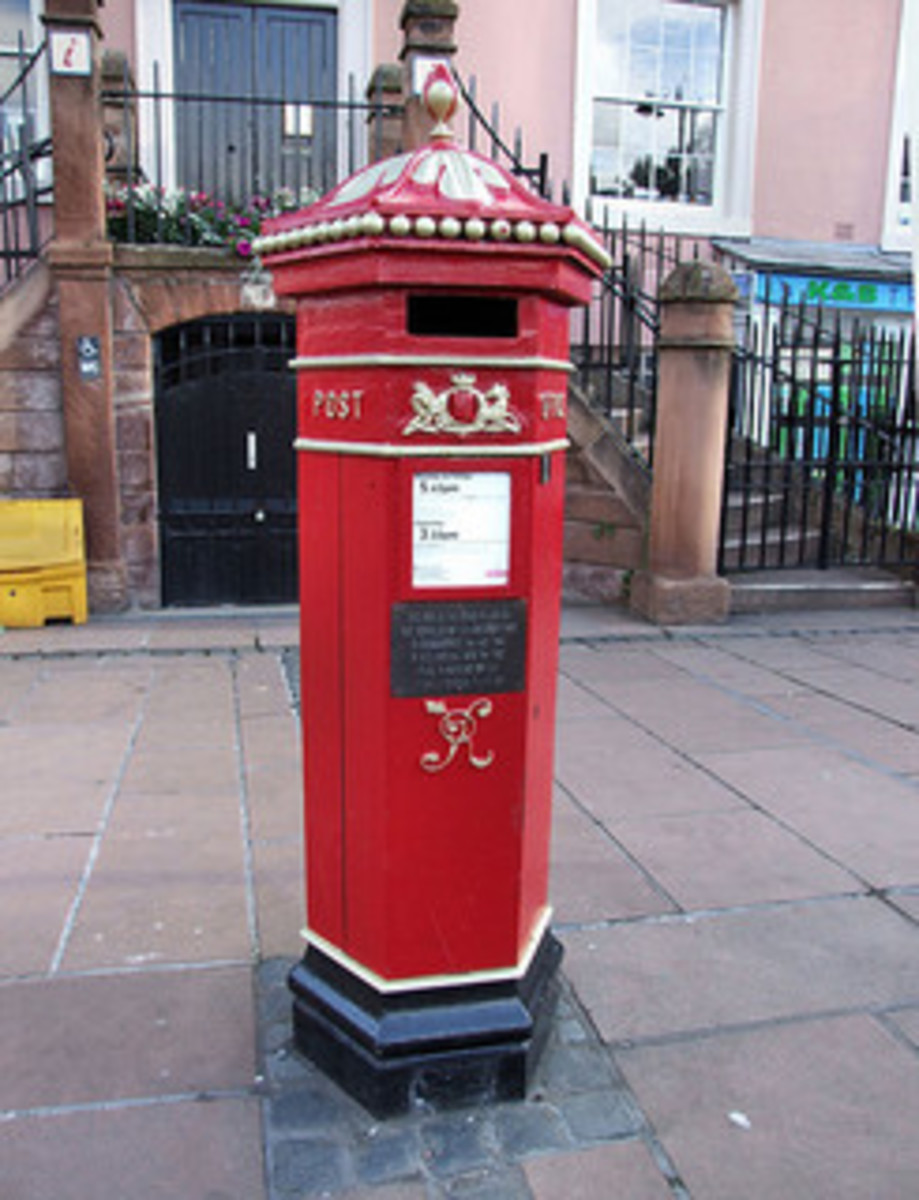 As Surveyor for the Western District, Trollope designed this Pillar post box in 1852-53 to help mail delivery move more quickly.