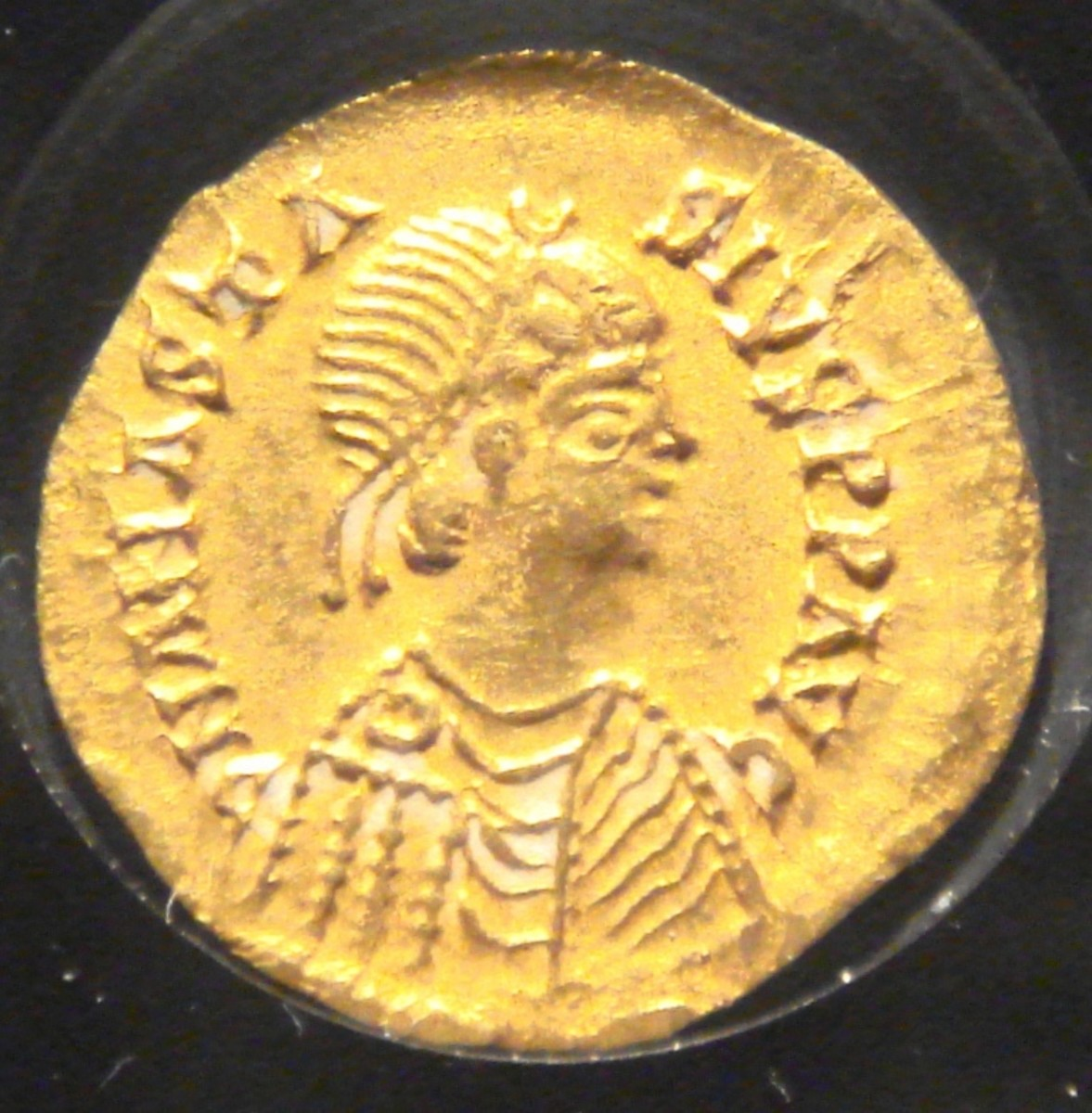 Coin bearing the image of Alaric II