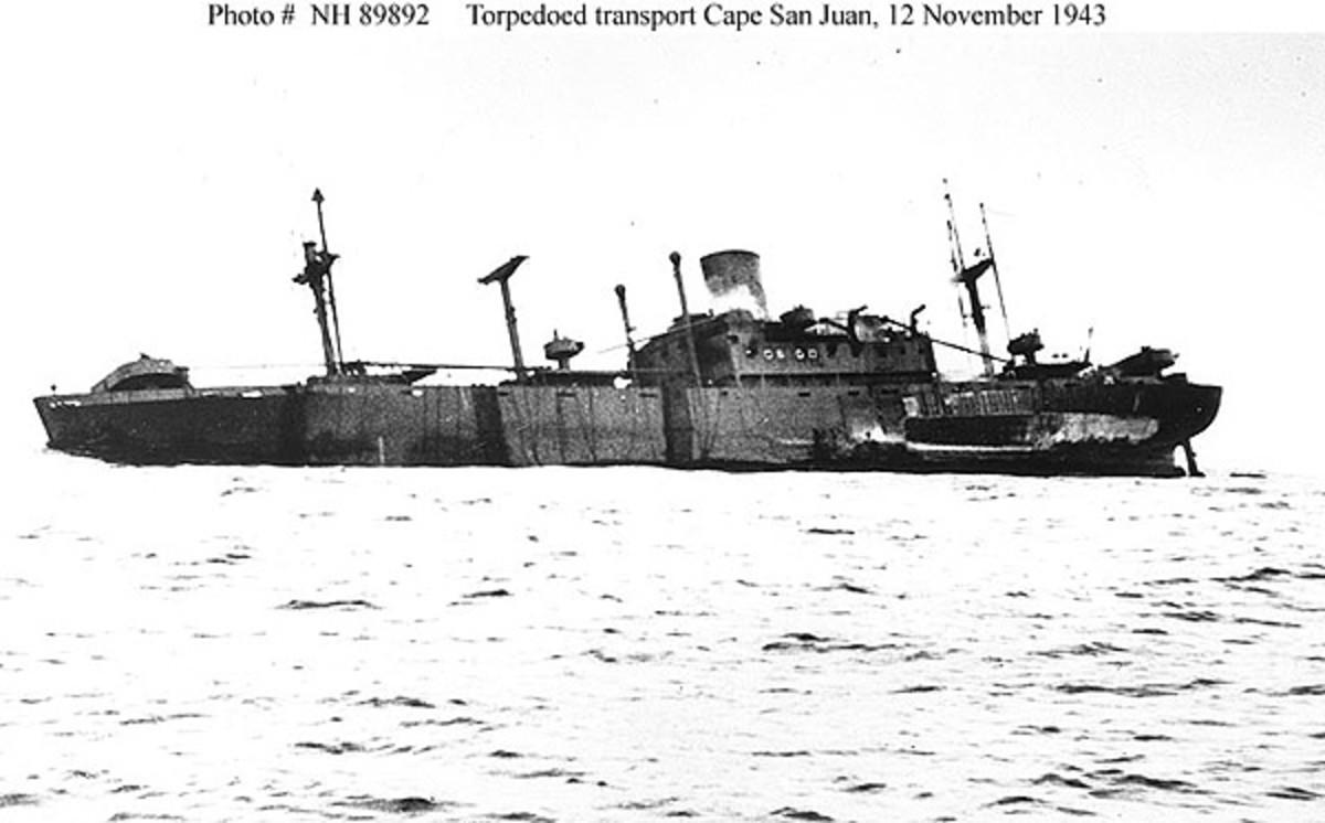 Cape San Juan 1943