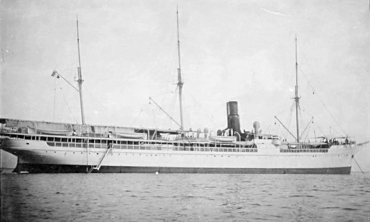 French steamer La Seyne