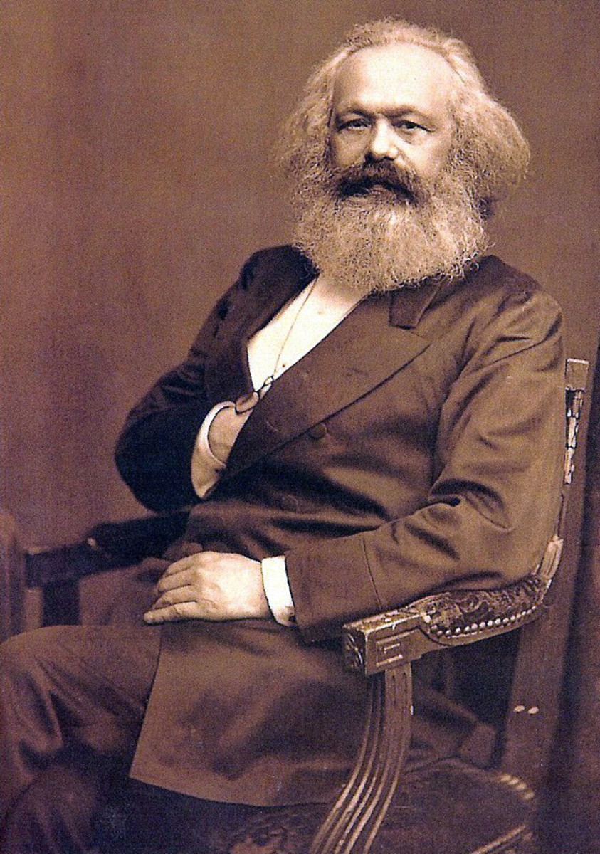 Karl Marx believed that just wars hindered the progress of the proletariat.