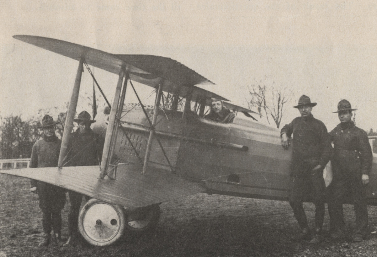 A World War I Biplane. Technological advancements like this made the killing of mass amounts of people far easier and made it much more difficult to distinguish between civilians and soldiers.
