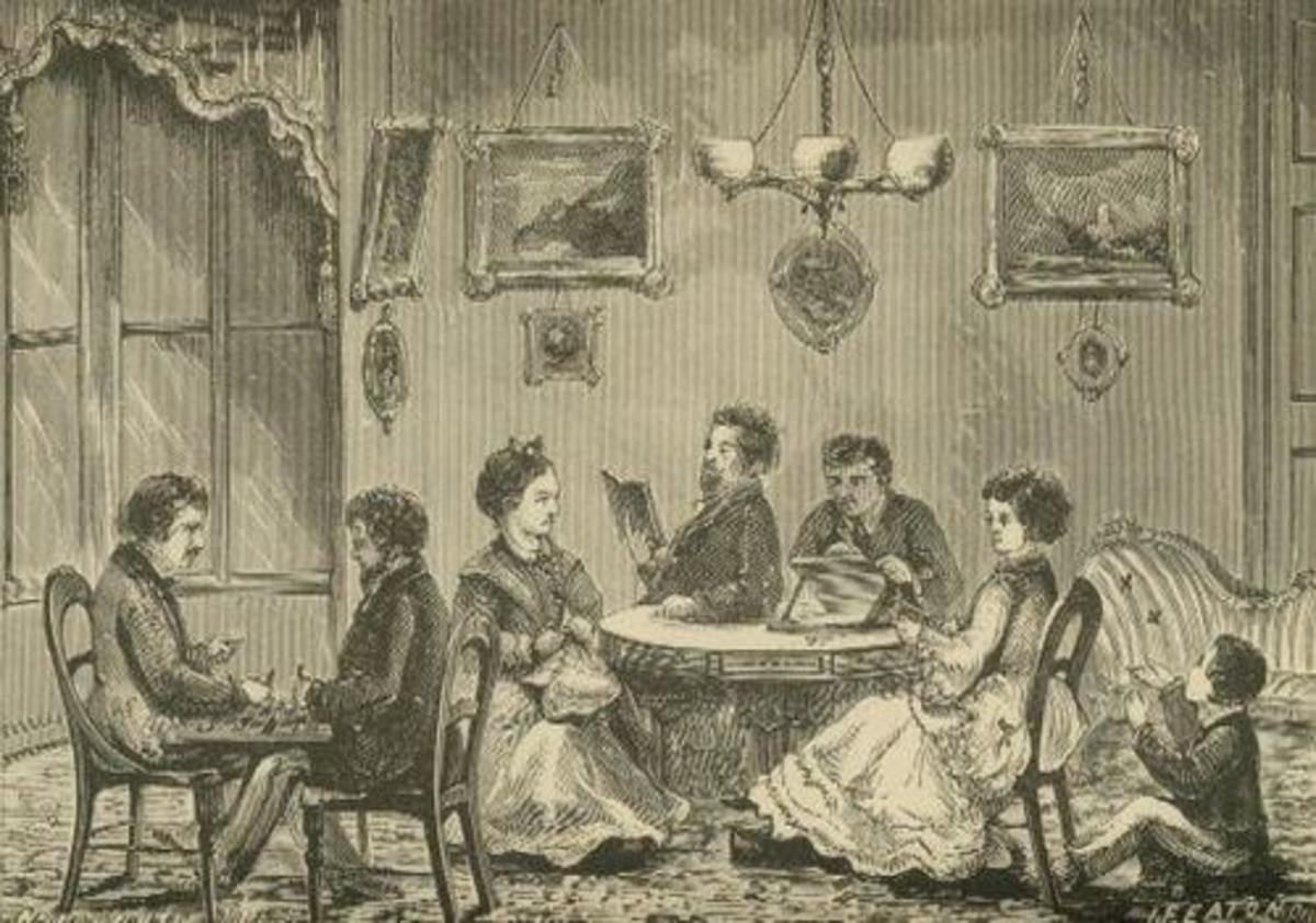 Elizabeth Packard Ware and her children.