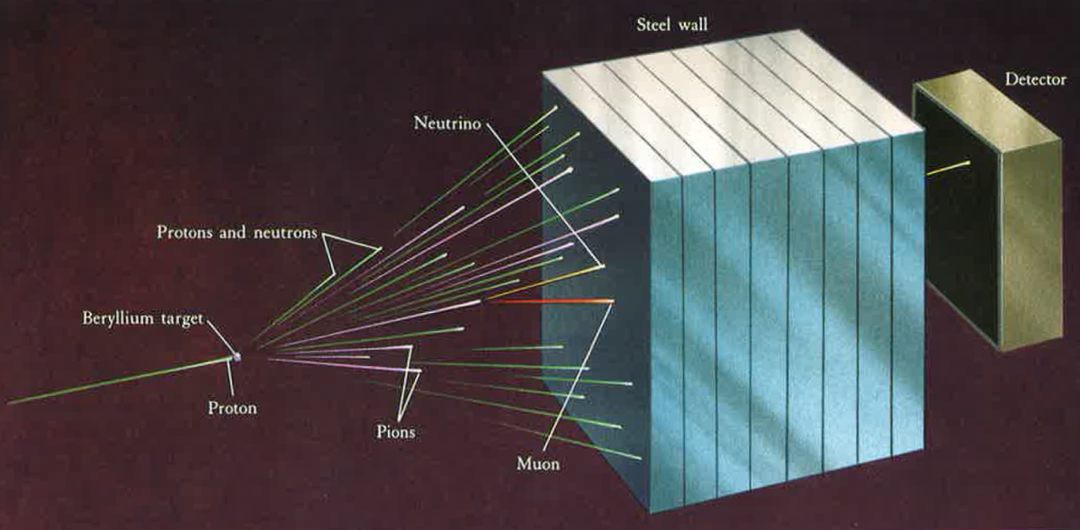 Detecting neutrinos.