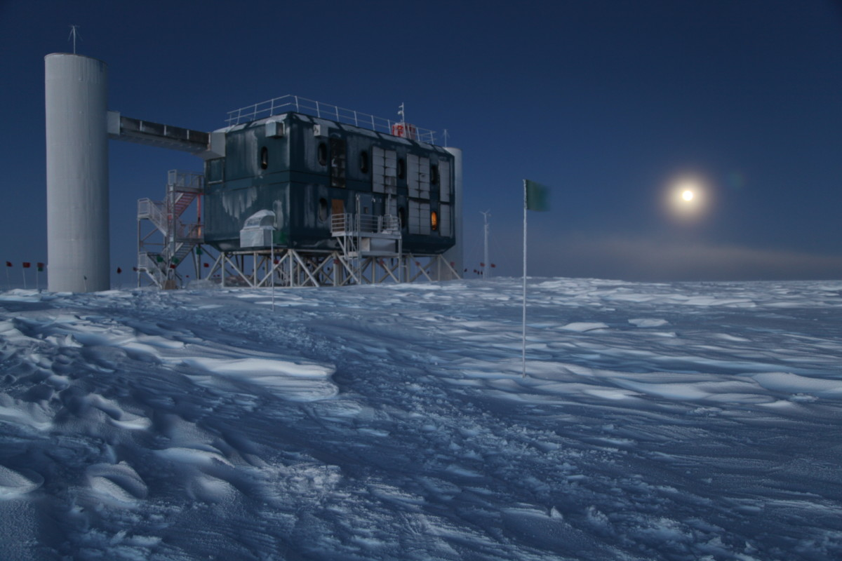 The IceCube Observatory.