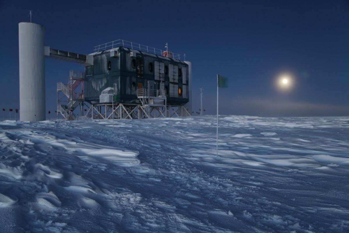 The IceCube Observatory.