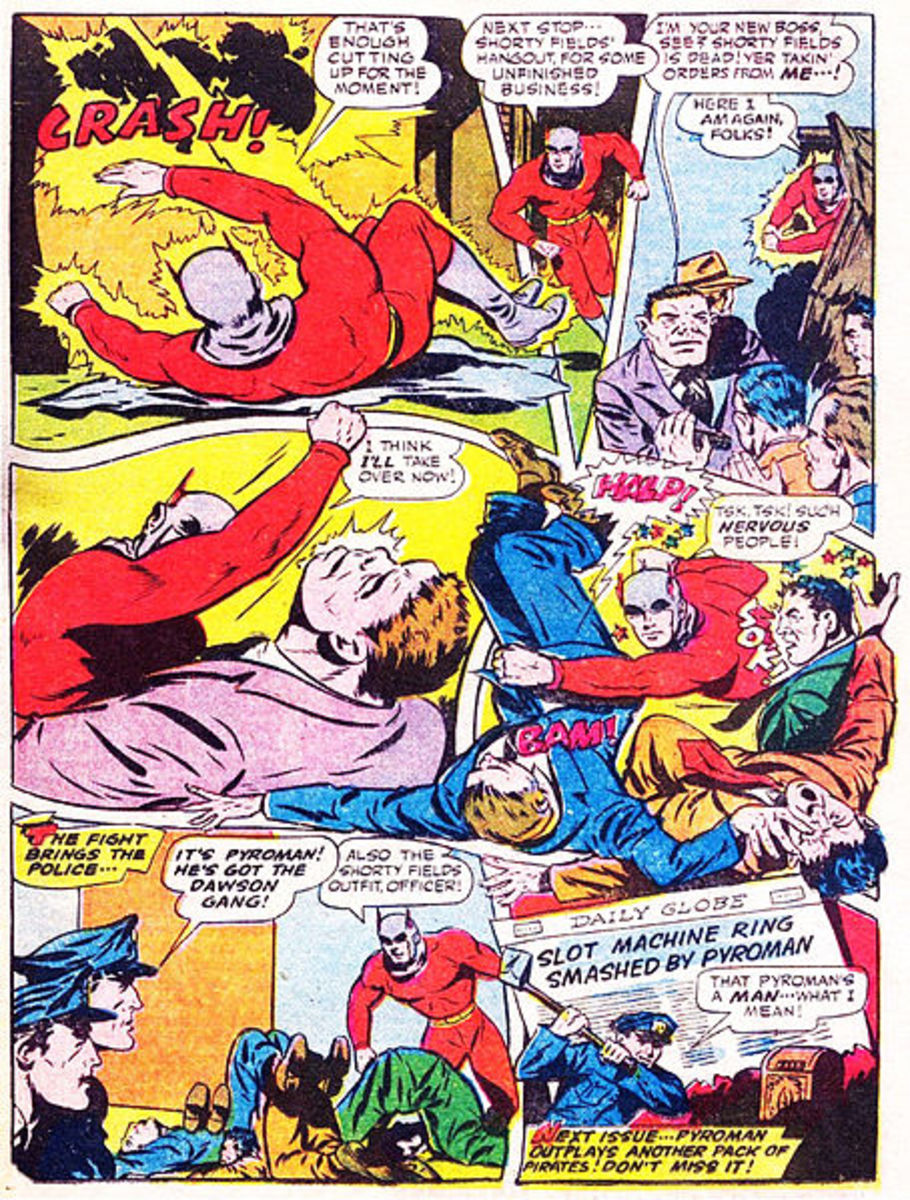 Wham, bam, and out of a jam! Onomatopoeia makes superheroes seem more exciting.