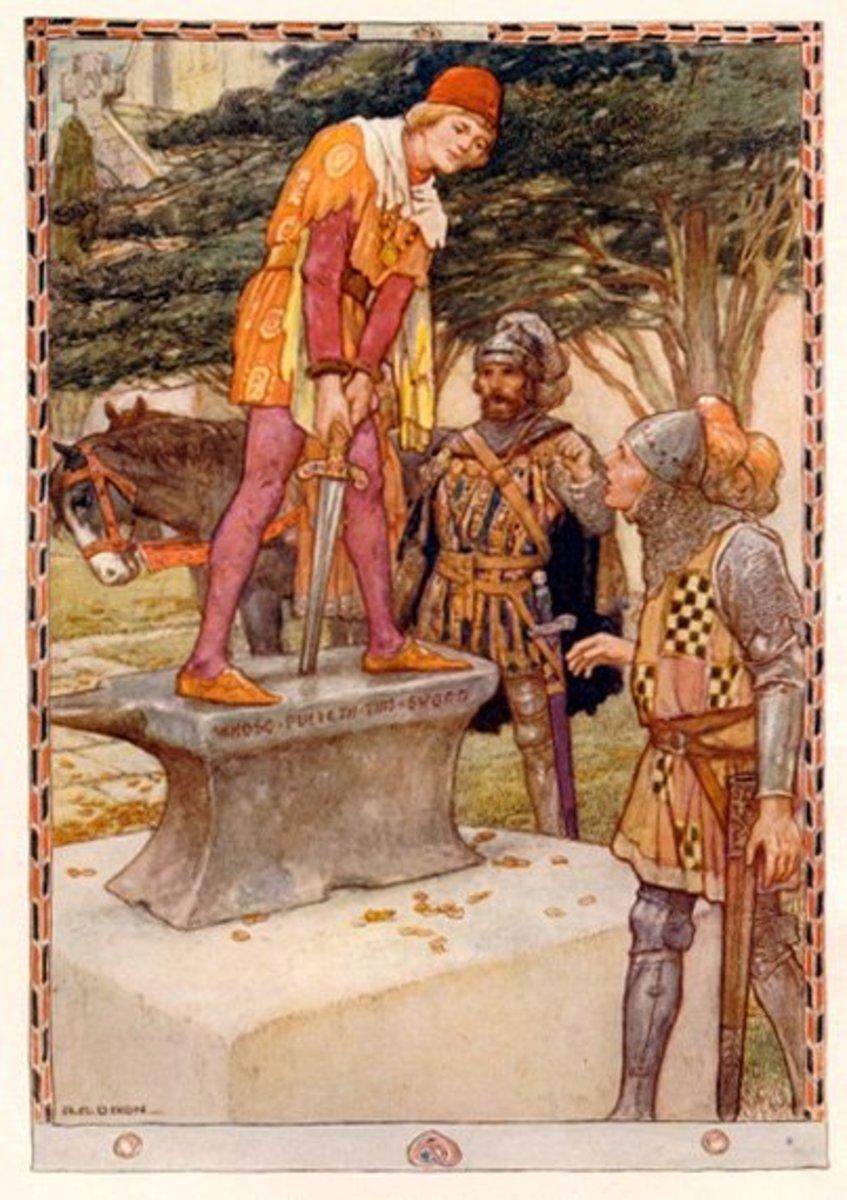 Art by Walter Crane, 1911
