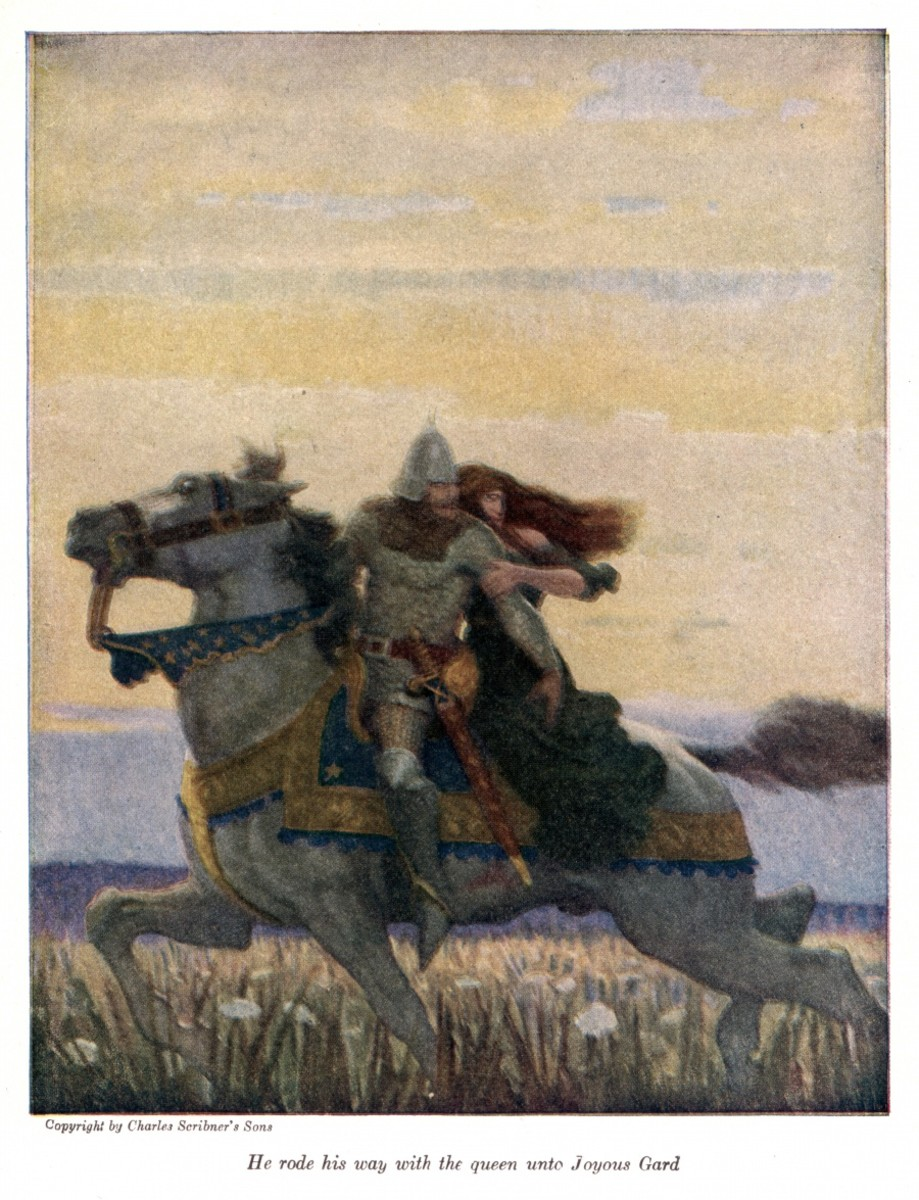 Art by N. C. Wyeth,1917