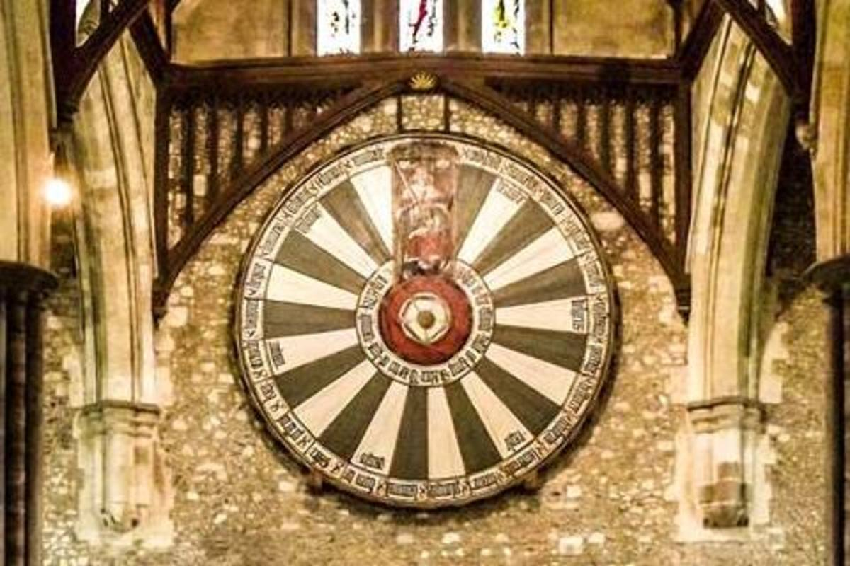 Winchester Round Table. Photo by Shane Broderick, used with permission.