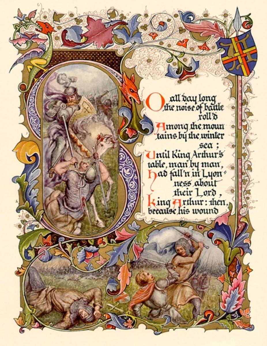 Art by Alberto Sangorski, 1912