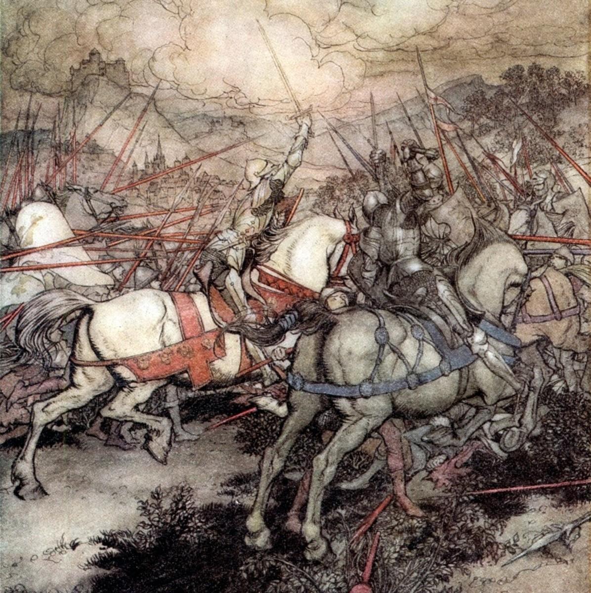 Art by Arthur Rackham, 1917