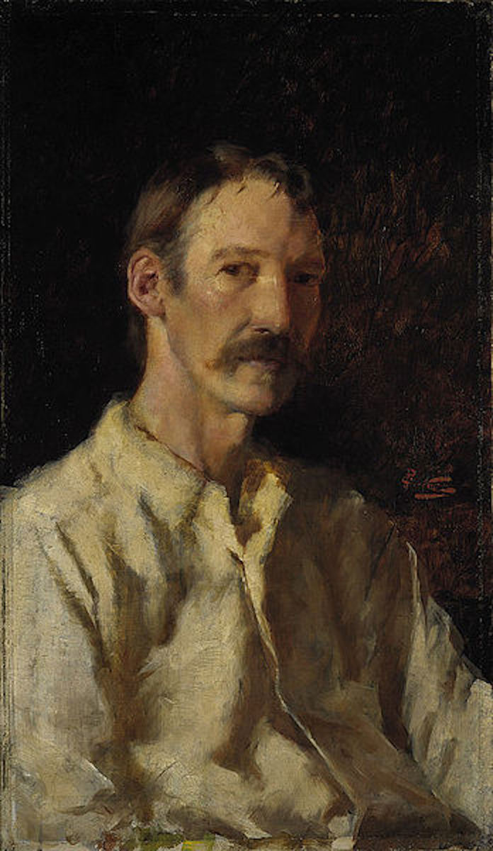 Robert Louis Stevenson portrait