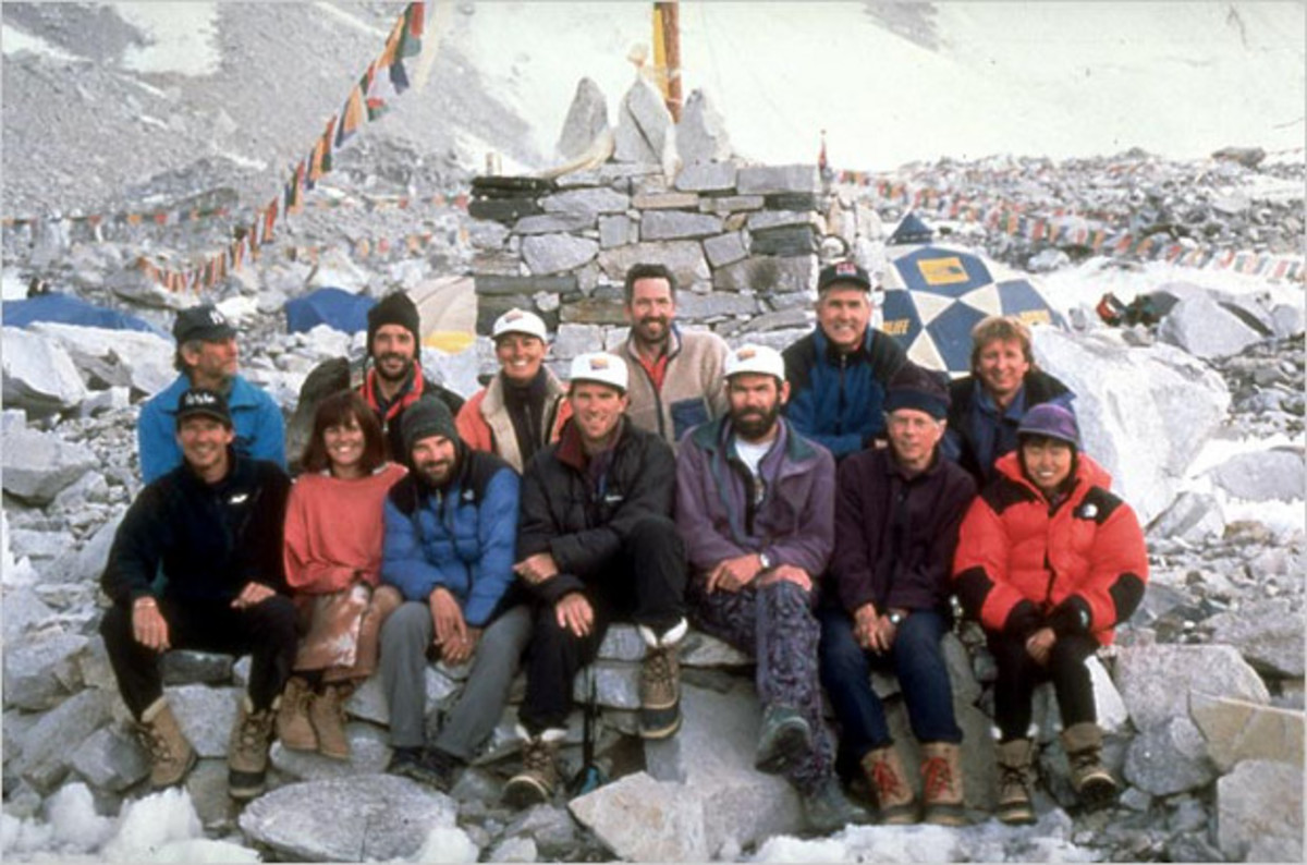 The ill-fated 1996 Adventure Consultants expedition.