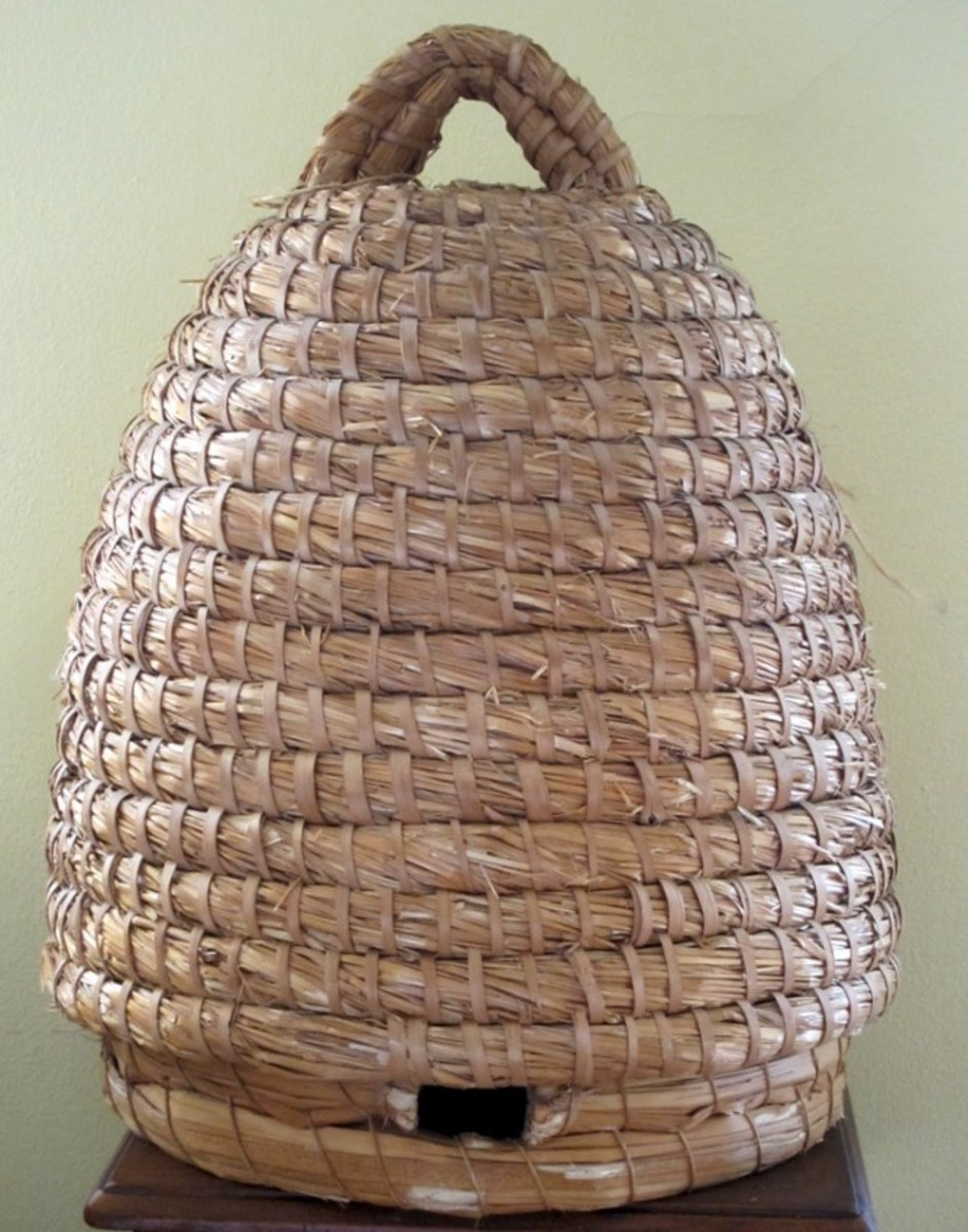 Bee baskets were also known as Skeps