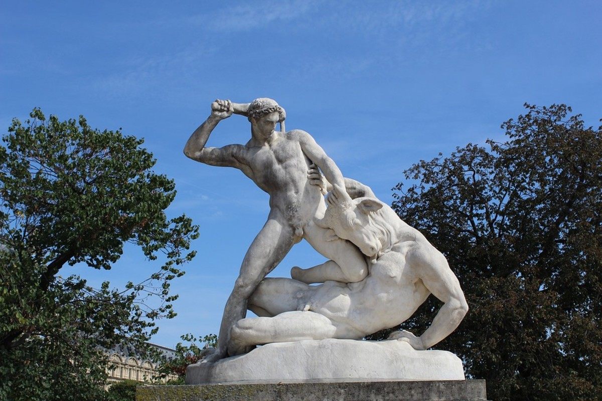 The legend of Theseus and the Minotaur lives on in art, fiction, video games, etc.