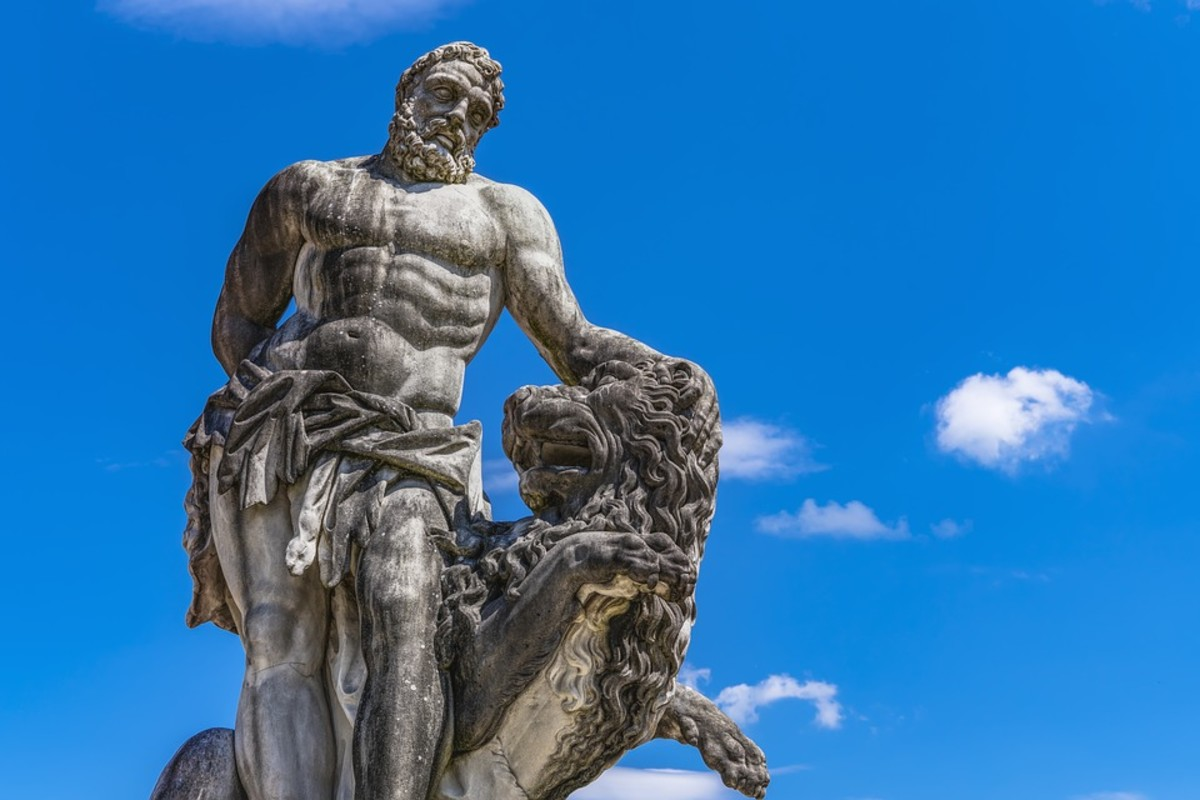 For many, Heracles in the personification of the ideal virile male.