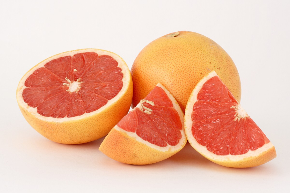 Grapefruit is a nutritious fruit, especially in its red form. Its scientific name is Citrus paradisi.