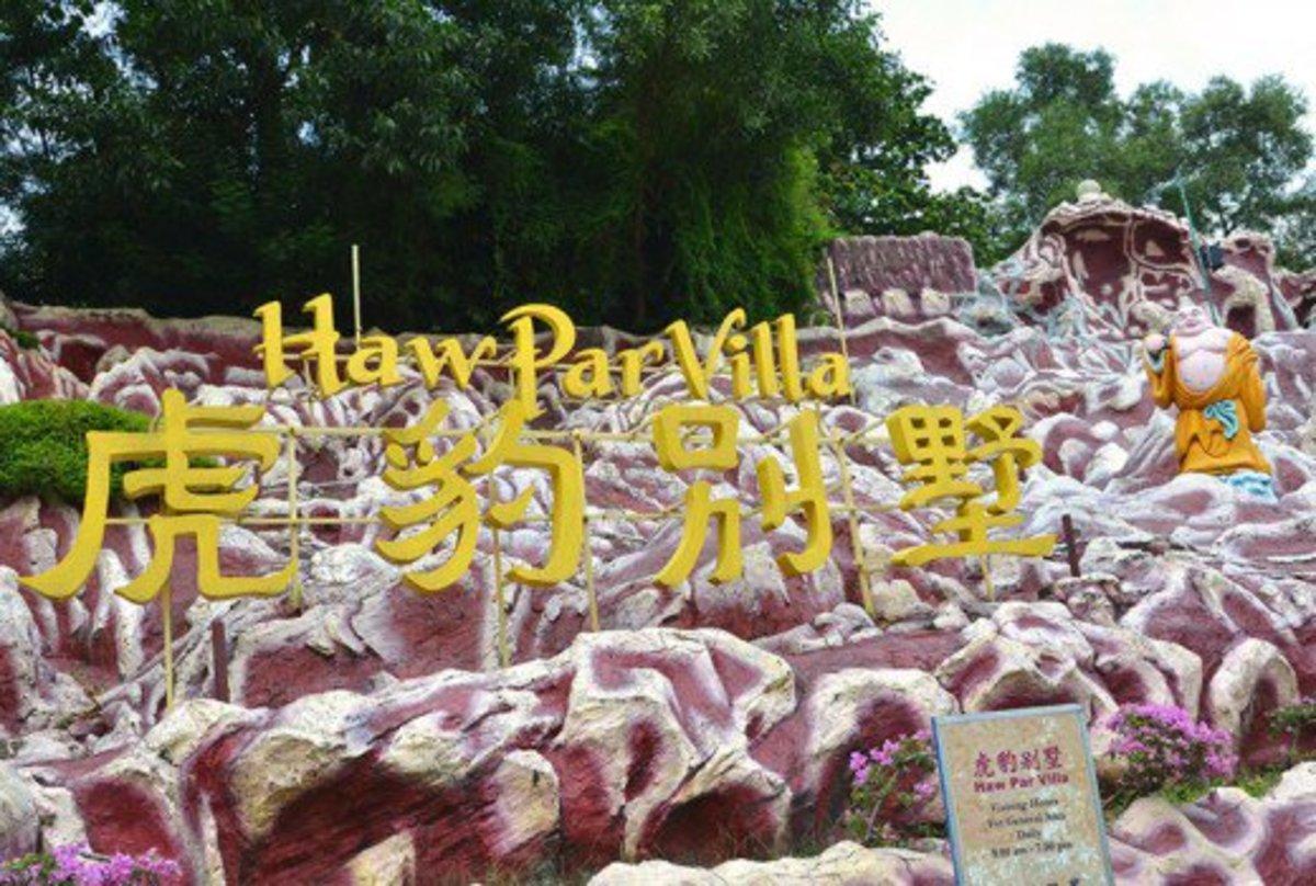 Haw Par Villa, Singapore's most macabre statue park.