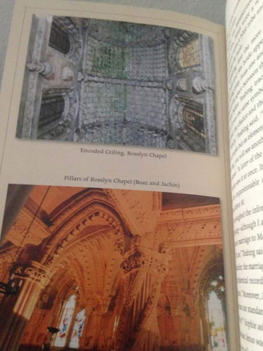 Photo from 8-page photo insert Rosslyn Chapel