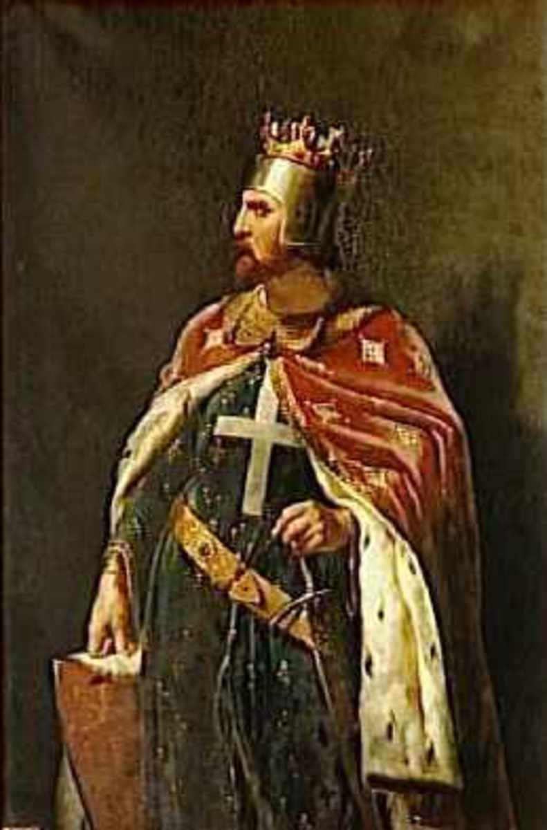 Richard I as imagined by the 19th century artist Merry-Joseph Blondel.