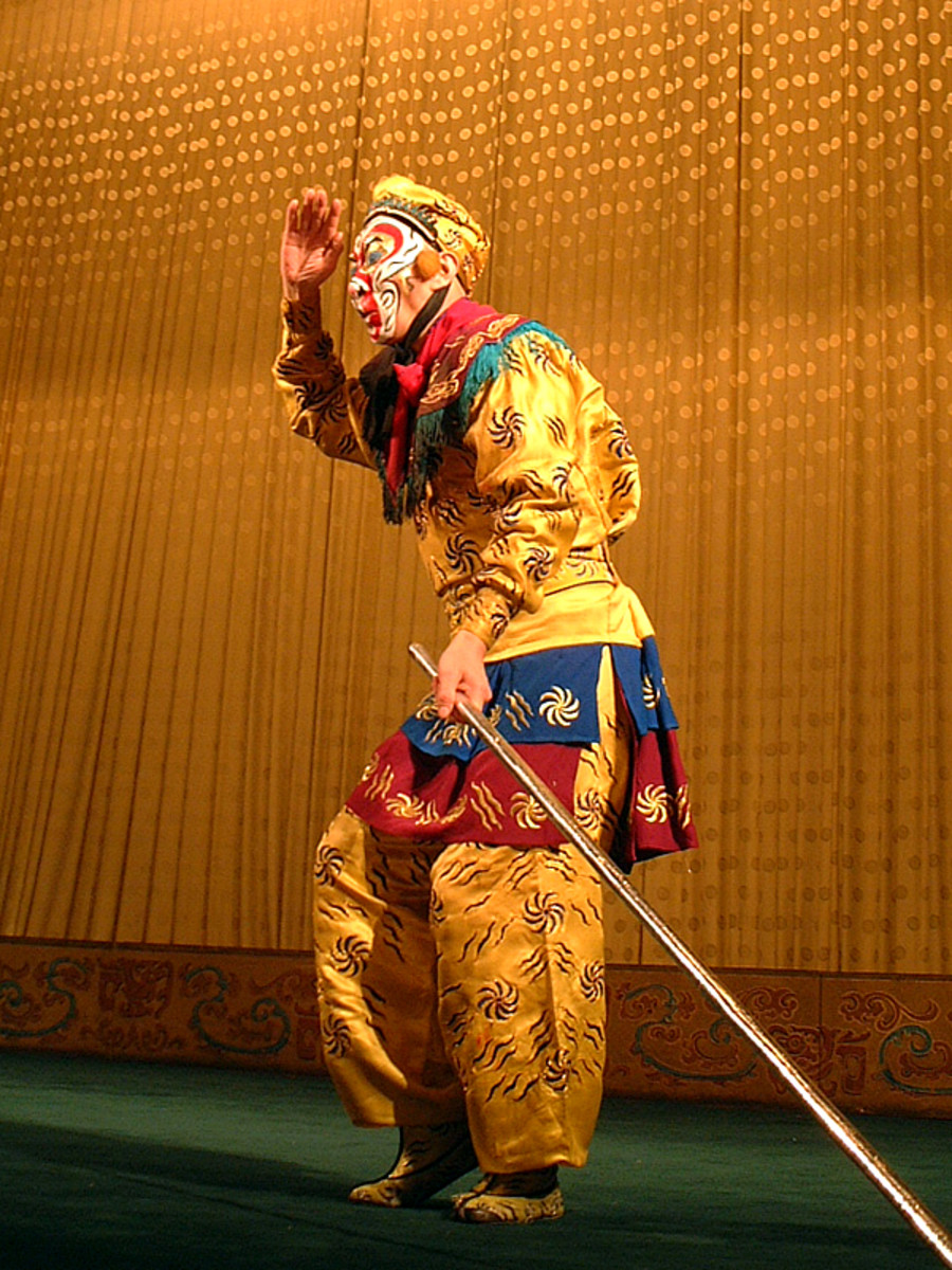 Sun Wukong often appears in Chinese opera performances.