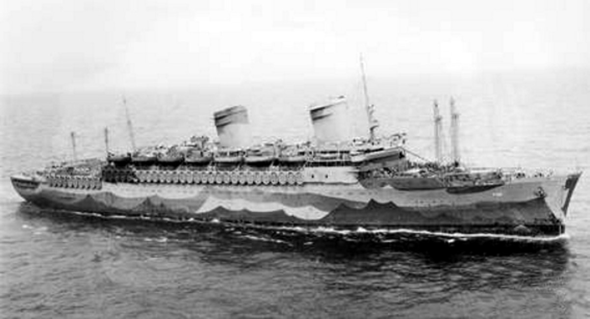 USS West Point during the war.