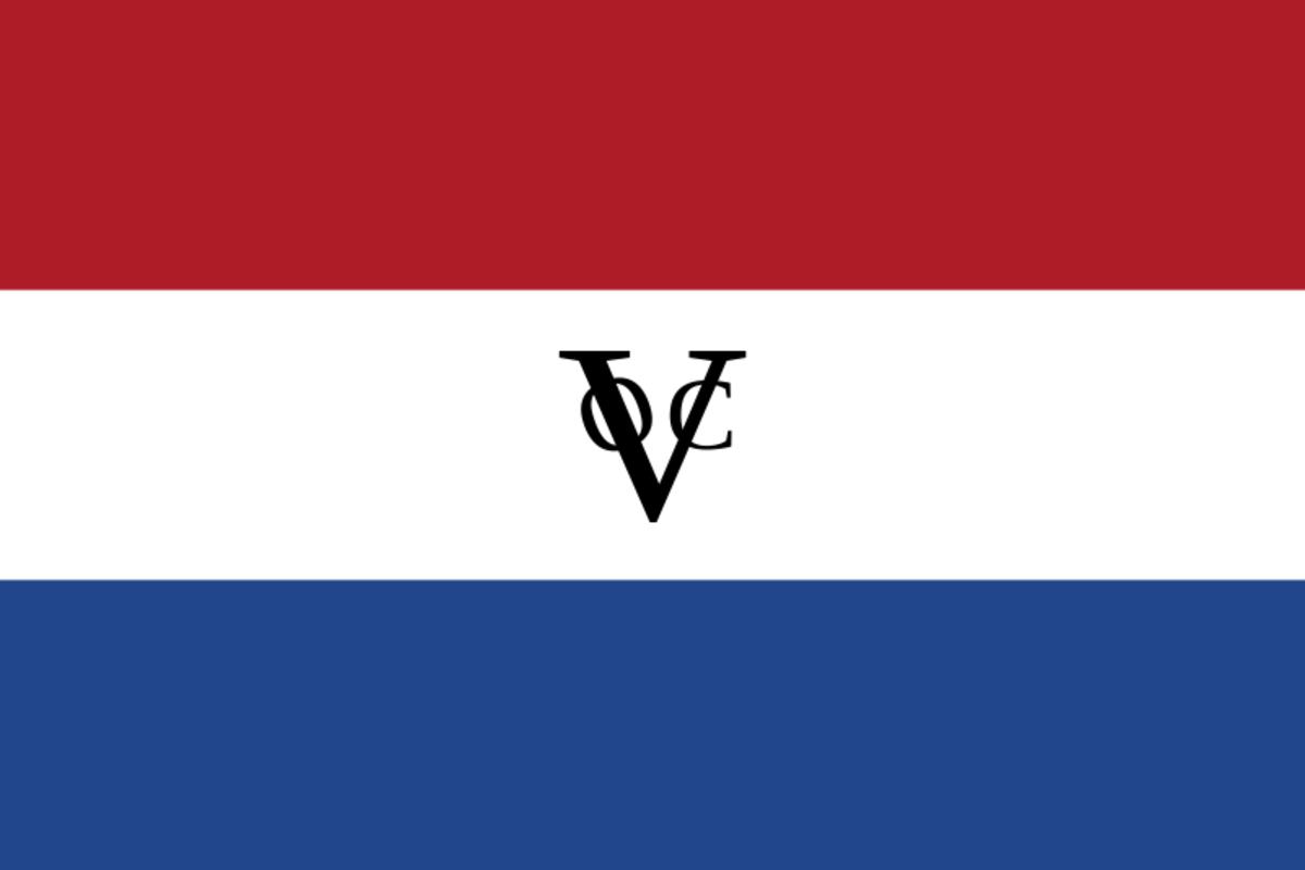 The Dutch East India Company flag.