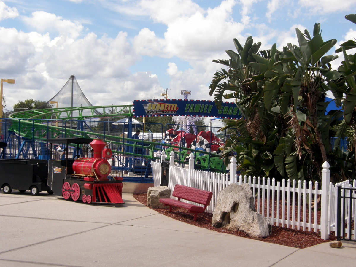 A day of fun at Andretti Thrill park