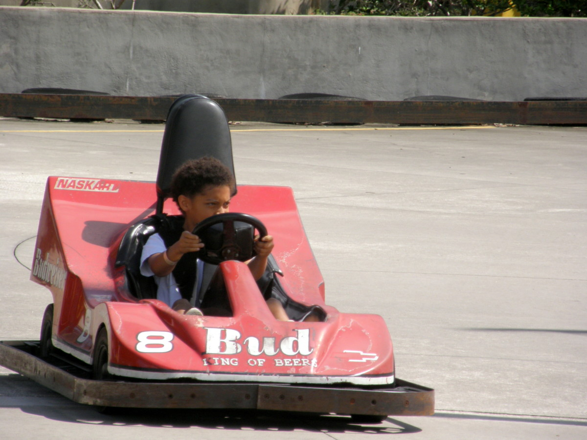 Andretti Thrill Park outing with an Ice Cream Social