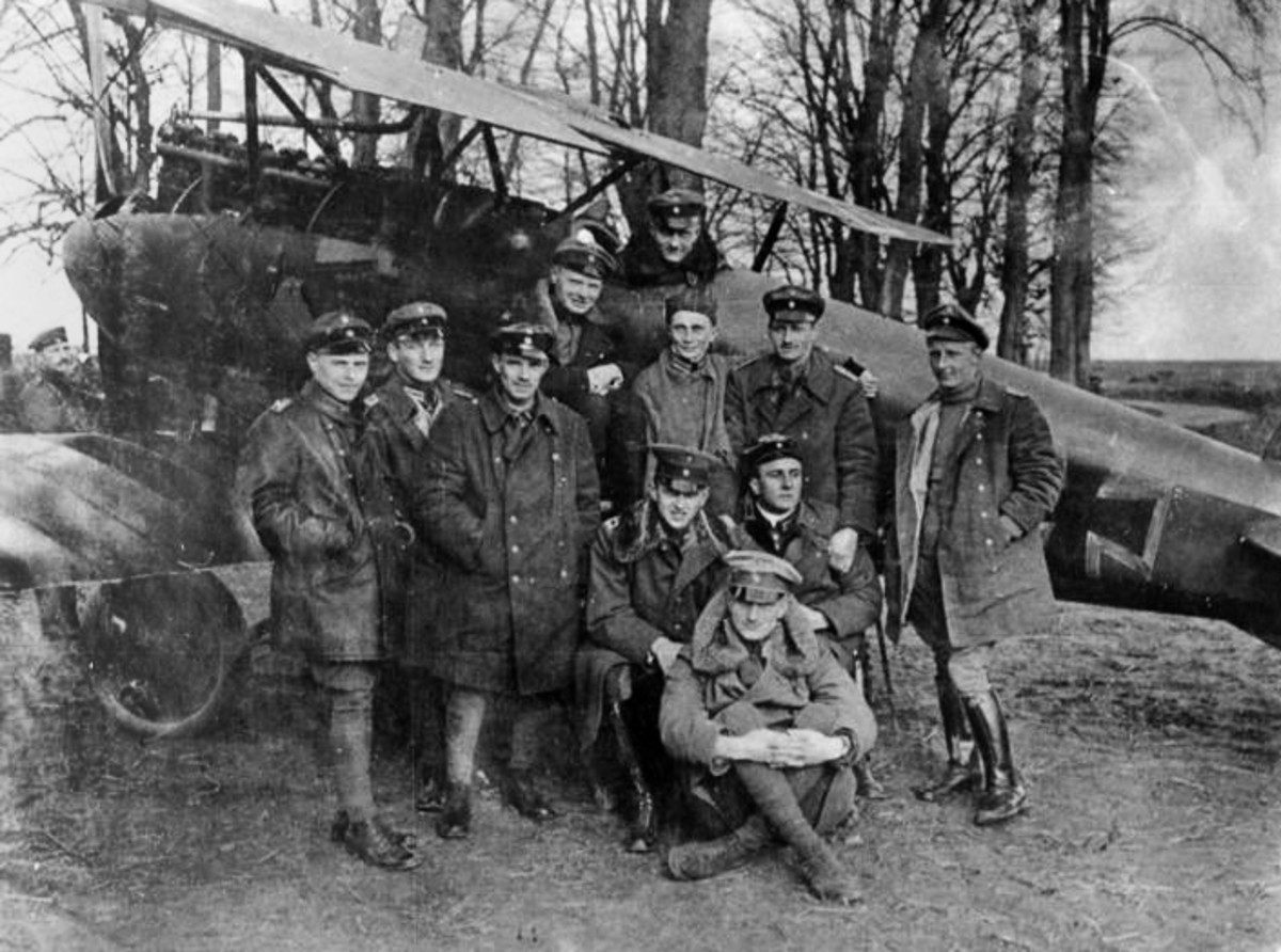 The battle for control over the sky at Verdun brought the best pilots Germany and France had available such as Manfred von Richthofen, also known as The Red Baron, the highest scoring ace of WWI with 80 victories.