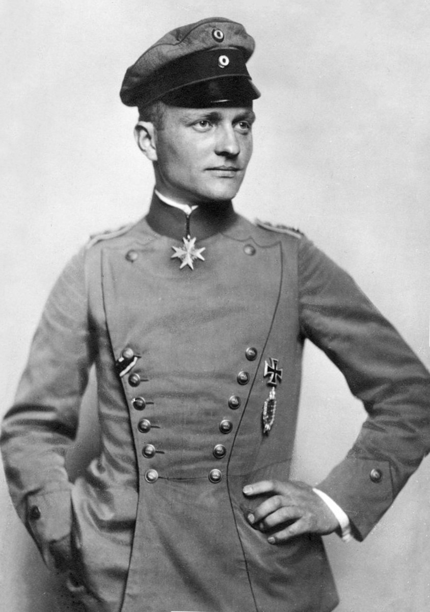 Manfred von Richthofen also know as the Red Baron the Highest scoring ace of World War I.
