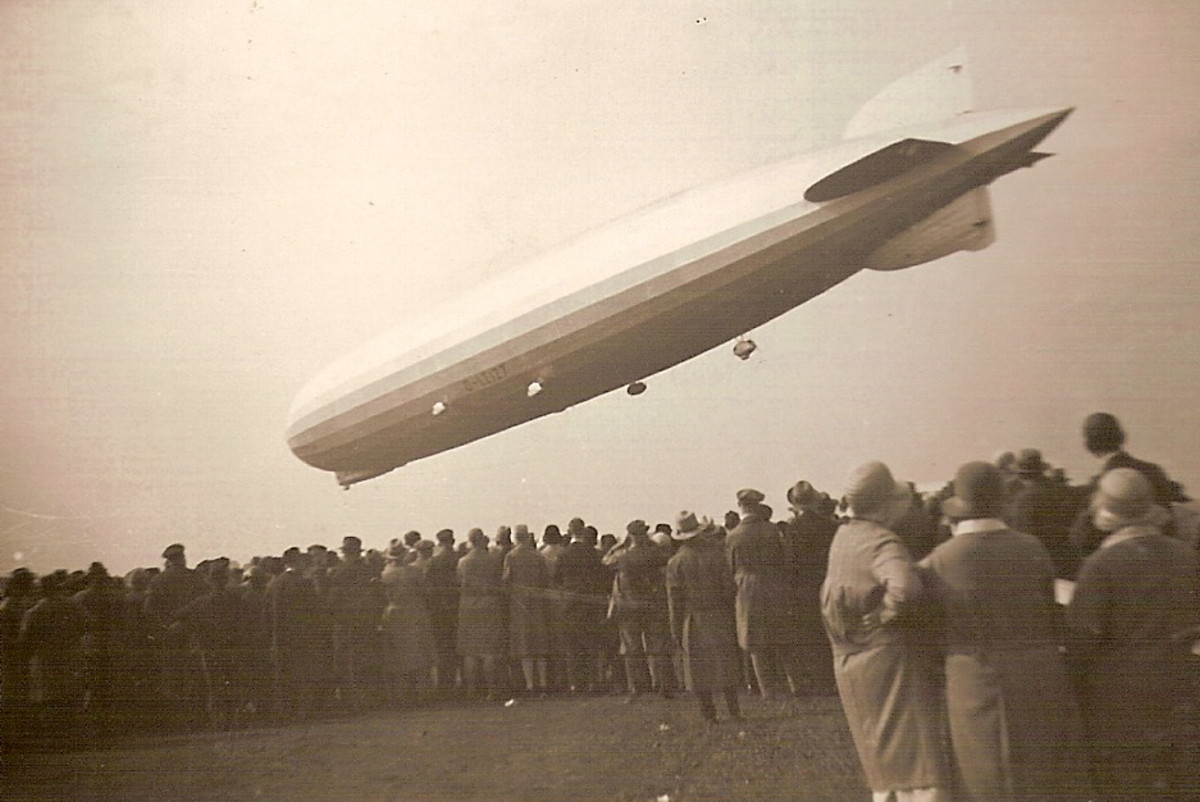 German Zeppelins were was used to bomb Paris during the Battle of Verdun.