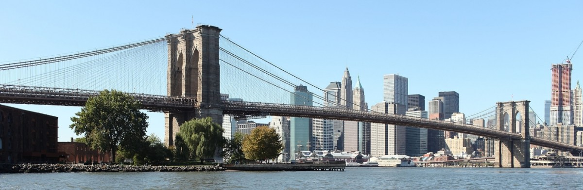 The Brooklyn Bridge today.