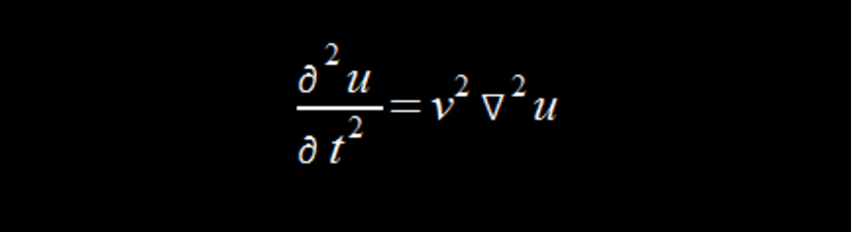 The wave equation.