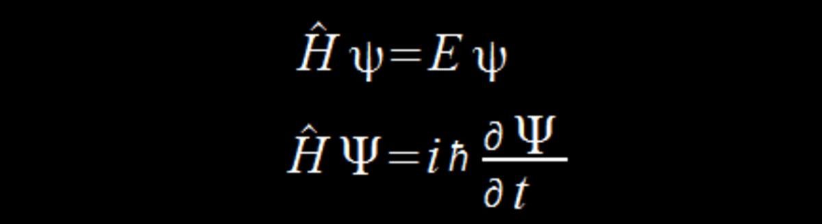 The Shrödinger equations.