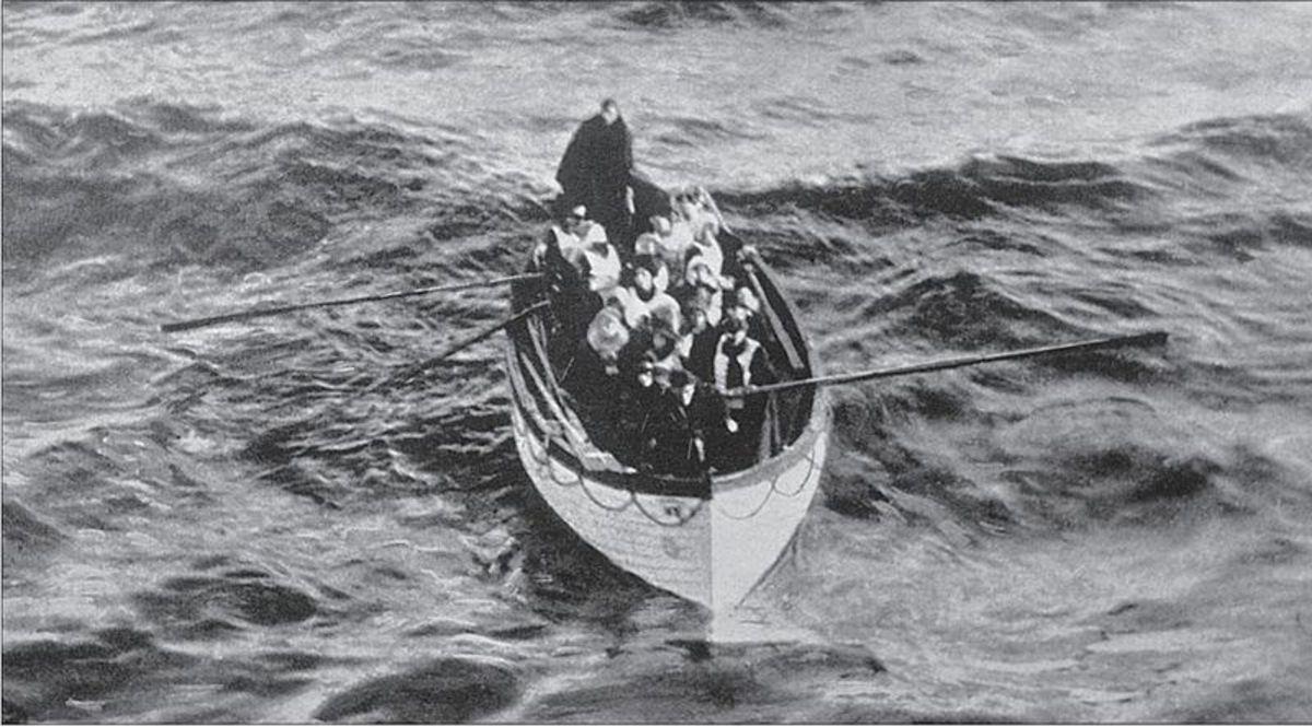 Titanic survivors.