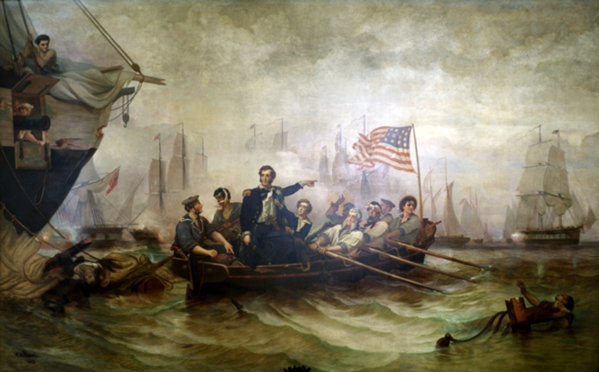 Battle for Lake Erie when Perry defeats the British squadron on the Lake.
