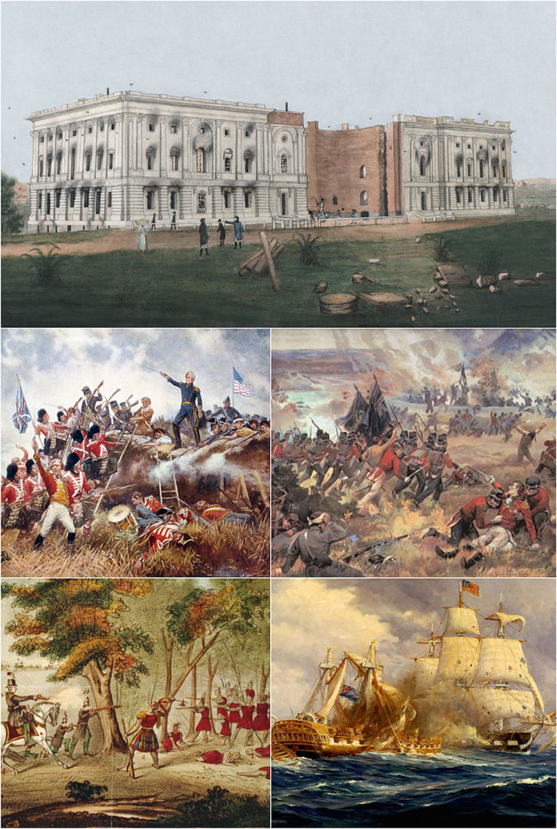Battle Montage of the War of 1812.