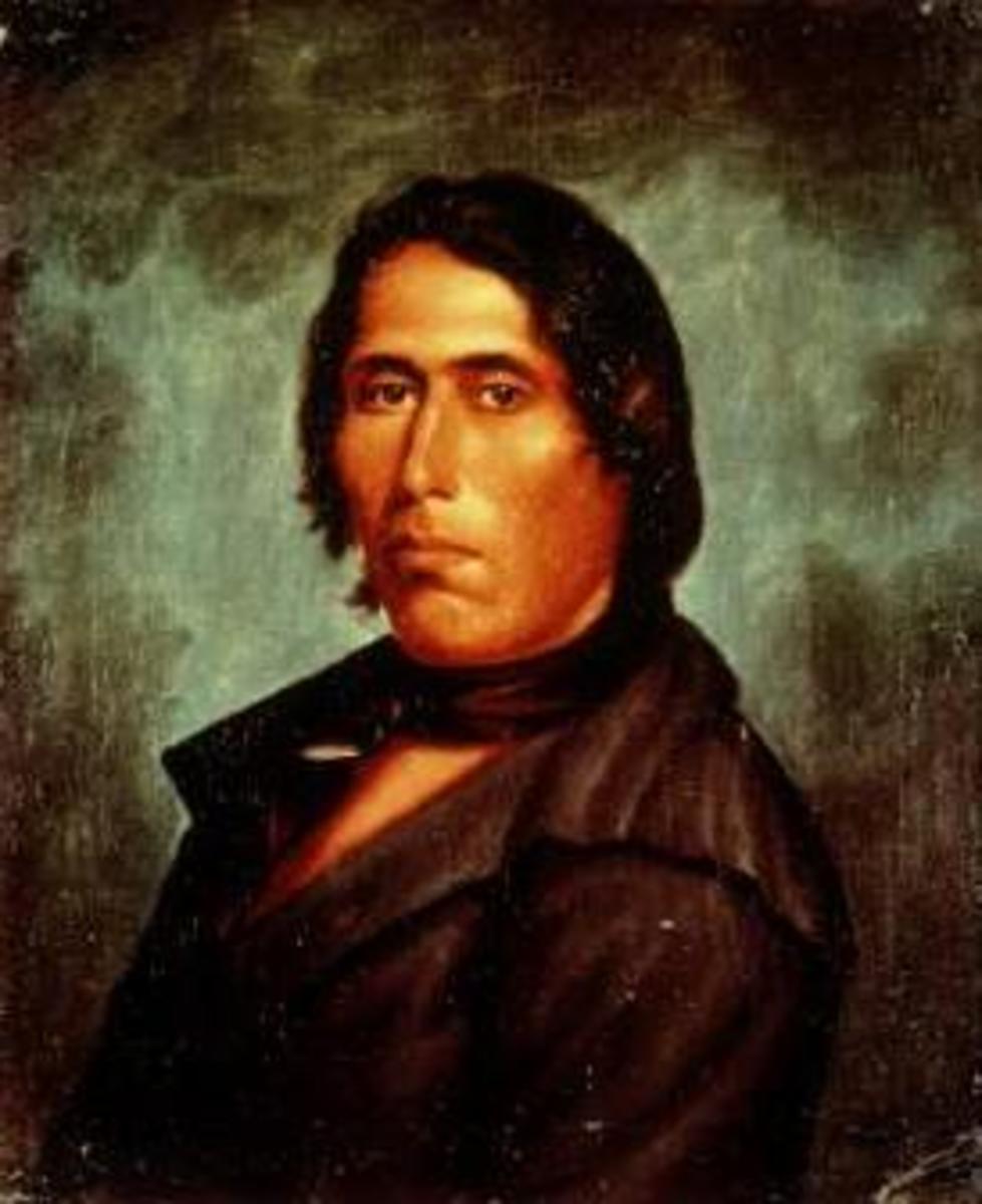Portrait of Tecumseh 1820