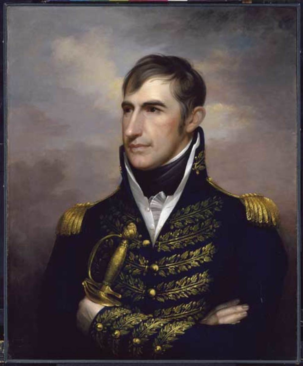 A young William Henry Harrison  would be the main obstacle in Tecumseh's dream of independence from white oppression.