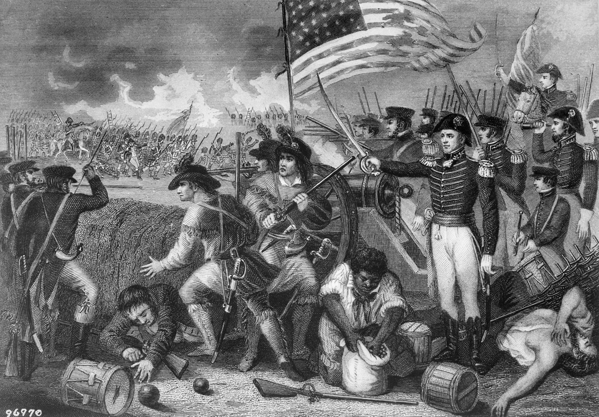 Andrew Jackson wins the Battle of New Orleans.