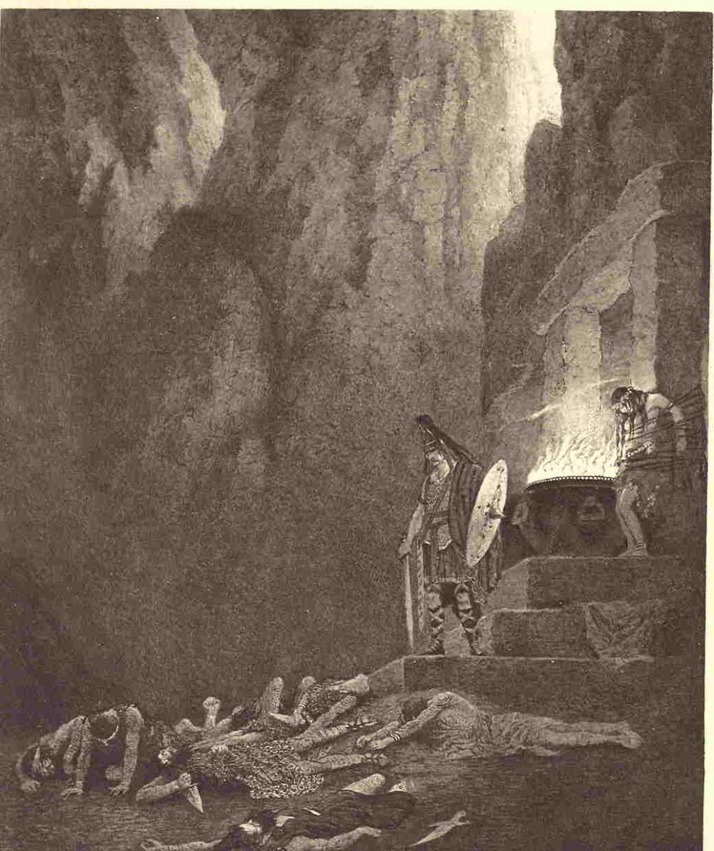 Gwydion and Cerridwen