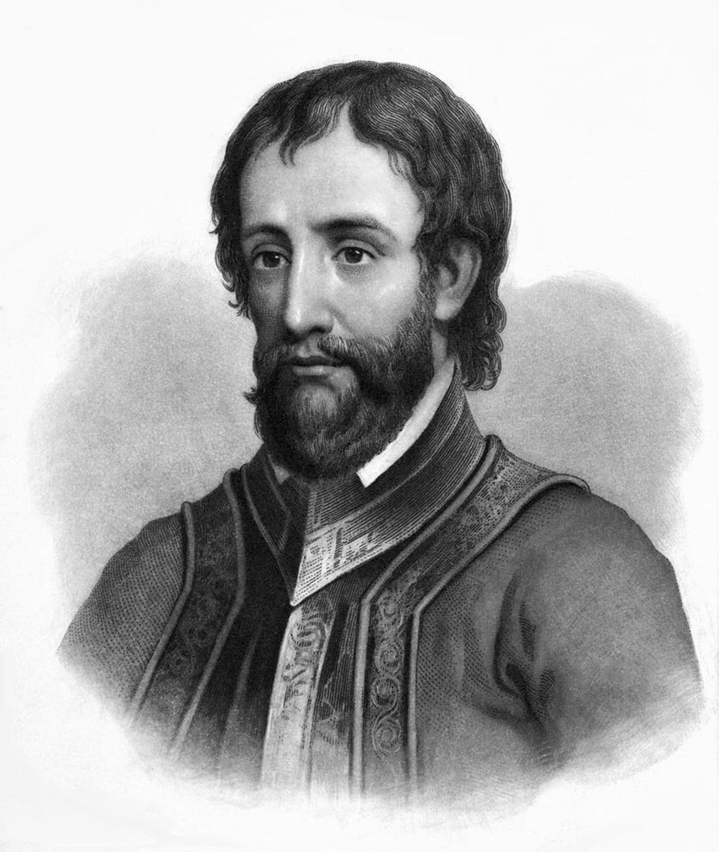 A young de Soto only in his teens would lead a band of conquistadors to riches in South America.