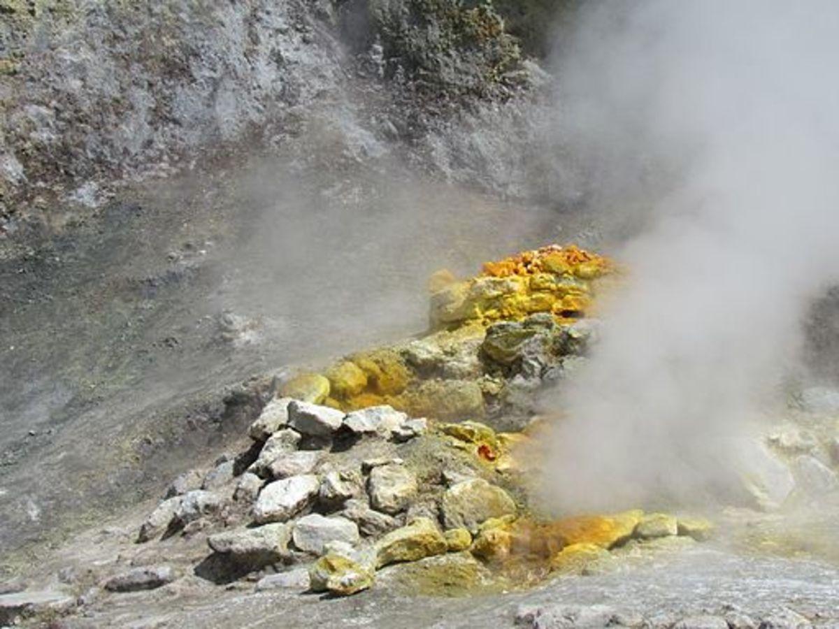 Fumarole at Solfatara