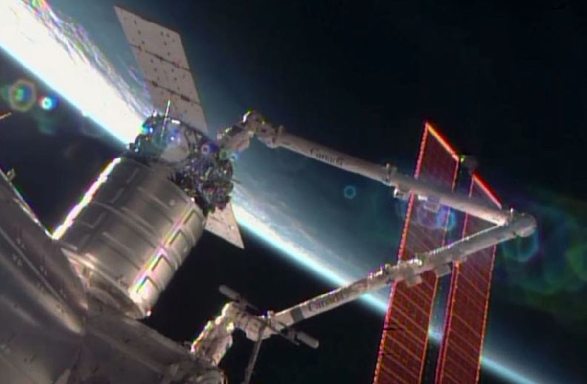 Cygnus Orbital Delivery Capsule