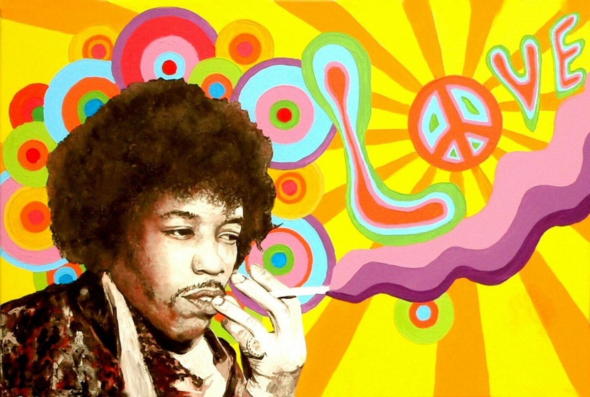 The music of American rock legend, Jimi Hendrix, was also thought to have a negative effect on plant growth, according to Retallack.  His sound she speculated was too abrasive for the plants, who preferred a more soothing musical tone.