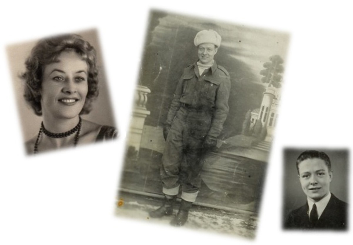 Lina after her release in 1956. She had no photograph of Thomas to show Stepan. The two above are from the McAdam family album.