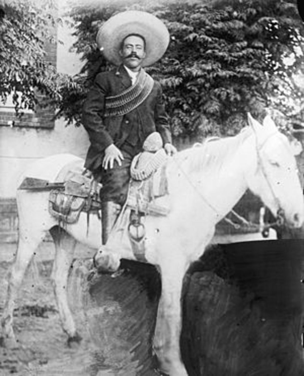 Governor of Chihuahua 1913-1914, public domain prior to 1923